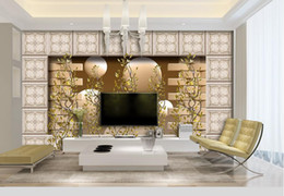 $enCountryForm.capitalKeyWord NZ - custom wall mural Abstract ceramic tile brick wall wallpapers for living room