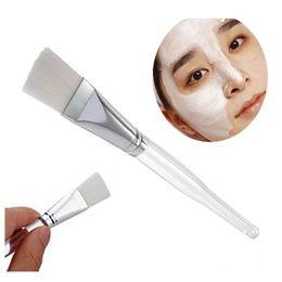 $enCountryForm.capitalKeyWord Canada - 3Pcs Facial Mask Brush Kit Makeup Brushes Eyes Face Skin Care Masks Applicator Cosmetics Make Up Mask Brush Tools Clear Handle