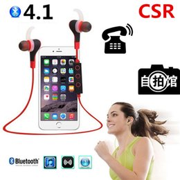 Wireless Noise Cancelling Ear Headphones Canada - BT-50 Portable Mini Wireless Bluetooth Headset Headphones Stereo 4.1 Sports Earphone Earbud with Microphone CVC 6.0 Noise Cancelling HBS900