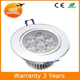 $enCountryForm.capitalKeyWord NZ - LED Downlight Dimmable LED Down Light 7W Ceiling Recessed 15PCS AC85-265V 3 Years Warranty CE RoHS Super Bright Thick Housing