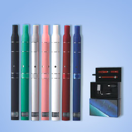Ago G5 Pink Canada - AGO Smoke Dry Herb Vaporizer G5 dry herb pen clearomizer electronic cigarette LCD display battery 2013 510 thread ago kit ego UPS TZ010