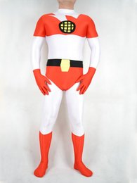 Superman Lycra Spandex Pas Cher-White Red Spandex Earth Superman, costumes de super-héros Costume de partie de Halloween Cosplay Party Zentai