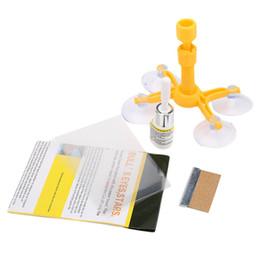 Großhandel DIY Auto Werkzeuge Auto Glas Reparatur Werkzeug Auto Glas Windschutzscheibe Windschutzscheibe Instrument Reparatur Kits DIY Glas Reparatur Werkzeug Sets