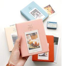 64 кармана альбом чехол для хранения фото FujiFilm Instax мини-фильм размер, 11 см * 14,2 см*3,3 см, новый мини-альбом CutePolaroid