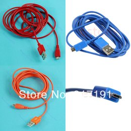 $enCountryForm.capitalKeyWord Canada - Free Shipping High Speed Universal 2M Micro USB Data To Mini Charging Cable Line Fr Cell Phone 3pcs lot order<$18no track