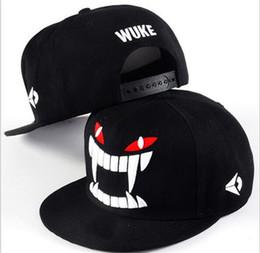 $enCountryForm.capitalKeyWord NZ - 20pcs WUKE Big teeth south Korean baseball cap hipster hats in hip hop hat J019