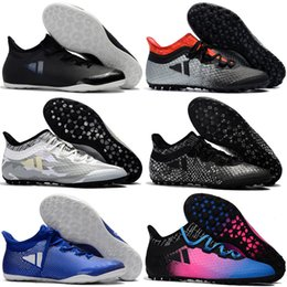 5d74e2961e2 2017 tacos de fútbol baratos Césped X Tango 17.3 IC TF zapatos de fútbol  para hombre botas de fútbol auténticas interiores original as 17  Purecontrol Gris
