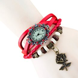 womens watches bracelets Canada - Vintage Bracelet Watch Women 2016 Retro Clock Quartz Wristwatches Womens Wrist Watch Ladies Female Quartz-watch Relogio Feminino