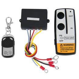 Winches For Atv Canada - 12V 12 Volt Wireless Remote Control Kit for Truck for Jeep ATV Winch Car Remote Controls