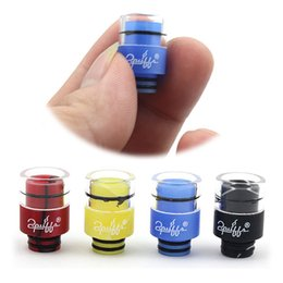 Ego T Tips Australia - DHL 510 Drip Tip Glass with Acrylic Wide Bore Drip Tips for EGO T Twist Evod RDA E Cigarettes RDA Vaporizer Mods Atomizer