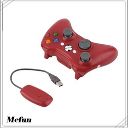 Wireless Usb Game Controller NZ - 2.4G Wireless Controller USB Game Gaming Gamepad Joystick Receiver for XBOX 360 for PC Computer for WINDOWS XP WIN7 WIN8 WIN8.1