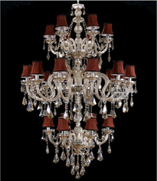 $enCountryForm.capitalKeyWord Canada - Free Shipping Champagne Factory direct Contemporary Traditional Crystal Chandelier Lighting JP8472 6+12+6L D1100MM H1900MM