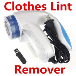 Electric Lint Removers Canada - Electric Clothes Lint Remover Roller Pill Fluff Cleaner Fabrics Sweater Fuzz Shaver Housekeeping Organization Household Cleaning Tools