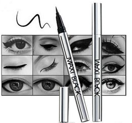 New Hot Ultimate Black Liquid Eyeliner Long-lasting Waterproof Eye Liner Pencil Pen Nice Makeup Cosmetic Tools from ultimate tools manufacturers
