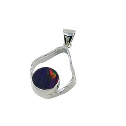China Luxury Pear shape Opal Jewelry pendants with unique design for Pure handmade Jewelry Sterling Silver pendants for N978 suppliers