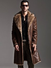 Discount Mens Long Faux Fur Coat | 2017 Mens Long Faux Fur Coat on ...