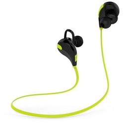 Wireless Exercise Headphones Canada - QY7 Wireless Stereo V4.1 Bluetooth Sports Running Headphone Gym Exercise Mini Lightweight Earbuds Headset for Smartphone Mobile Phone 300pcs