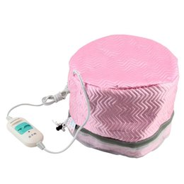 Chinese  1Pcs Electric Hair Thermal Treatment Beauty Steamer SPA Nourishing Hair Care Cap Free Shipping manufacturers