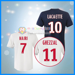 ee4433f07d8 ... Best quality Olympique Lyonnais soccer Jersey Home away 3RD 17 18 ABILY  LACAZETTE GHEZZAL MEMPHIS VALBUENA ...