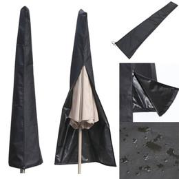 $enCountryForm.capitalKeyWord NZ - Wholesale- 190X57X26CM Outdoor Waterproof Patio Umbrella Canopy Rain Cover Shade Protective Sunshade Sun Shelter Shed Zipper Bag Awing Bags