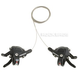 Road Cycling Speed NZ - SRAM X5 Trigger Shifters Shift Levers 3x9S Black Bicycle Parts Cycling Shifters bicicleta Shift Levers sram