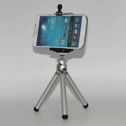 $enCountryForm.capitalKeyWord Canada - Universal Mini Camera Tripod Stand with Flip Holder Phone Holder For Camera for Samsung Galaxy for iphone