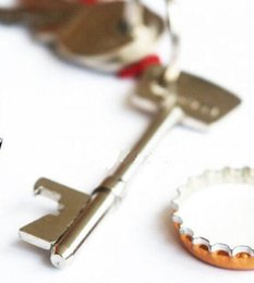 can bottle Australia - Gifts Keychain Keyring Suck UK Key Design Shape Bottle Beer Can Opener