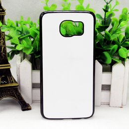 Diy aluminium case online shopping - DIY Sublimation Heat Press PC cover case with Metal Aluminium plates for SAMSUNG Galaxy S3 S4 S5 S6 S6 EDGE S7 S7 EDGE S8 S8 PLUS