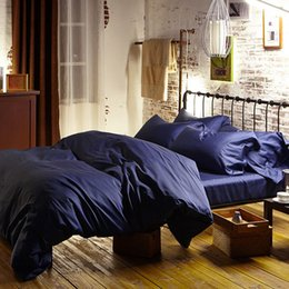 Bedsheet Cotton White Canada - Blue 100% Egyptian cotton bedding sets bed sheets queen duvet cover king size double quilt doona bedspread linen bedsheet Luxury bedlinens
