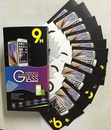 S6 Edge Plus Lcd Australia - flat Tempered Glass LCD Screen Protector for For iPhone 6 5SE 6+ 6s 6s+ 7 8 plus x xr xs max samsung Note 4 5 S5 S6 s7 edge mini 200pcs