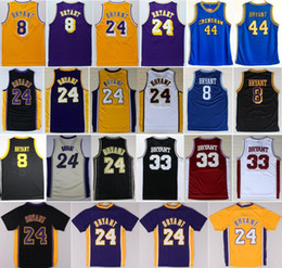 b0bfbf51042 ... jersey white red stiched new  8 kobe bryant 24 throwback basketball  jerseys bryant 44 high school hightower crenshaw lower merion stitched