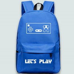 Chinese  Let us play backpack Gamepad daypack JoyStick schoolbag Game pad rucksack Sport school bag Outdoor day pack manufacturers