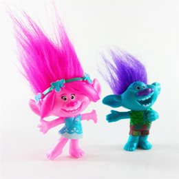 $enCountryForm.capitalKeyWord Australia - Movie Figures Trolls Bobbi Blanche doll figure ugly doll toy gift ornaments Cartoon Dolls Luck Trolls Christmas Gifts F2005