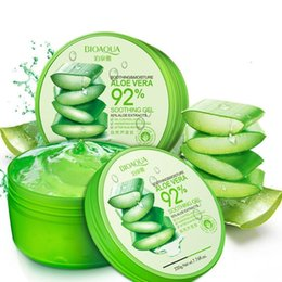 After sun creAms online shopping - BIOAQUA Natural Aloe Vera Smooth Gel Acne Treatment Face Cream for Hydrating Moist Repair After Sun