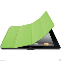 Ipad4 casIng online shopping - Free DHL magnetic Smart Cover PU Leather Case for Apple ipad mini iPad2 new iPad3 iPad4 iPad Air PC Stander