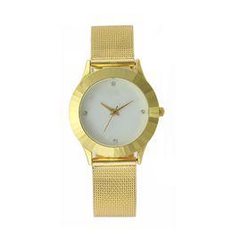 $enCountryForm.capitalKeyWord UK - 2016 New Fashion Famous Brand Quartz Women Dress Watches Stainless Steel Band Casual Elegance Lady Gold Casual Wrist Watch Clock Wristwatch
