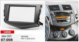 $enCountryForm.capitalKeyWord Canada - Carav 07-008 Double Din Car Radio Stereo Face Facia Fascia Panel Frame DVD Dash Installation Surrounded Trim Kit for Toyota RAV 4 2006-2012