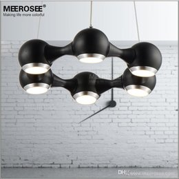 Discount Modern Kitchen Light Fittings Modern Led Chandelier Ring Light Fitting 6 Led Lights Circle Suspension