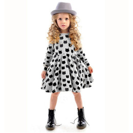 China Winter Autumn Spring Girl Dress Animal Print Kids Clothes 2016 Fashion Long Sleeve Cotton Girls Clothes Casual Children Clothing supplier casual lolita fashion suppliers