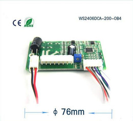 motor speed control pwm Canada - Micro brushless DC motor driver, the blower motor driver board can PWM speed control,model:WS2406DCA-200-OB4