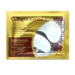 Yeux De Blanchiment De Collagène Pas Cher-Gros-Collagène MasK Eye + Deep sea Minerals Eye Mask Skin Care Patches yeux Cernes Anti Puffiness Hydratant Whitening Eye Care