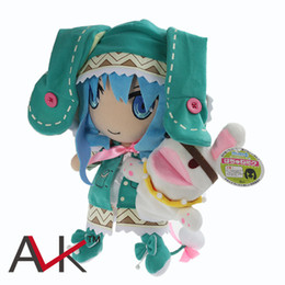 Chinese  Wholesale-J.G Chen Anime Date A Live Plush Toys 31CM Yoshino Hermit Plush Toys Soft Stuffed Dolls Christmas Gift Free Shipping manufacturers