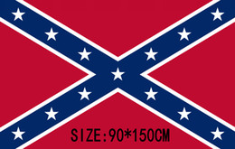 civil war battle flags 2020 - Confederate Rebel Civil War Flag Confederate Flag Confederate Battle Flags Two Sides Printed Flag National Polyester Fla