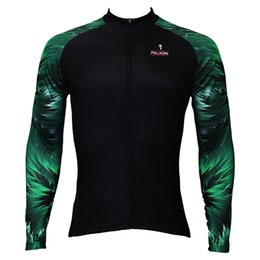 $enCountryForm.capitalKeyWord NZ - Wholesale-Free Shipping New Arrival Paladin Stand Collar Cycling Bicycle Bike Full Long Sleeve Jerseys Clothing Wear Thailand Quick Dry