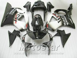 injection honda cbr954rr fairing Canada - Injection molding 7 gifts + Fit for Honda cbr900rr fairings 954 02 03 CBR954RR white black West fairing kit CBR900 RR 2002 2003 YR53