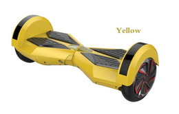 Bluetooth smart scooters online shopping - 8 Inch Smart balance wheels Self balancing Electric Scooters V Two wheel scooter with Bluetooth hoverboard hovertrax AH