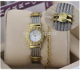 Discount factory supplier watches Factory Supplier Charriol Women's 'St Tropez' Diamond Dial Two Tone Steel Watch 028C.540.326 Watches Women