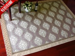Brief Grey Fashion Chenille Carpet Living Room Coffee Table Bedroom Mats Mediterranean Style
