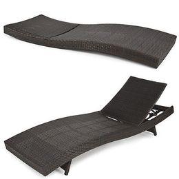 $enCountryForm.capitalKeyWord NZ - BCP Outdoor Patio Furniture Wicker Rattan Adjustable Pool Chaise Lounge Chair