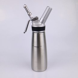 Chinese  Whipped Cream Dispenser Stainless Steel - Cream Whipper - 1 Pint Large (500ml) Kitchen Bar Tools manufacturers